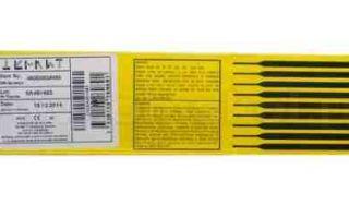 Сварочные электроды ESAB ОК 46.00 — технические характеристики