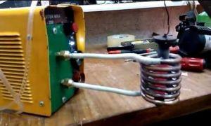 Как сделать индукционный нагреватель и печь из сварочного инвертора