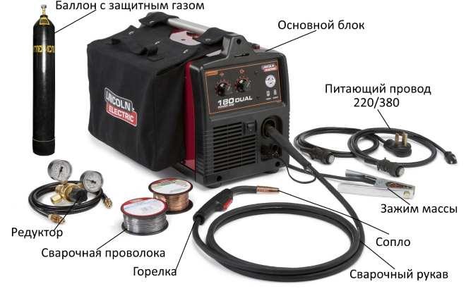 Сварочный аппарат полуавтомат подключение weco сварочные аппараты
