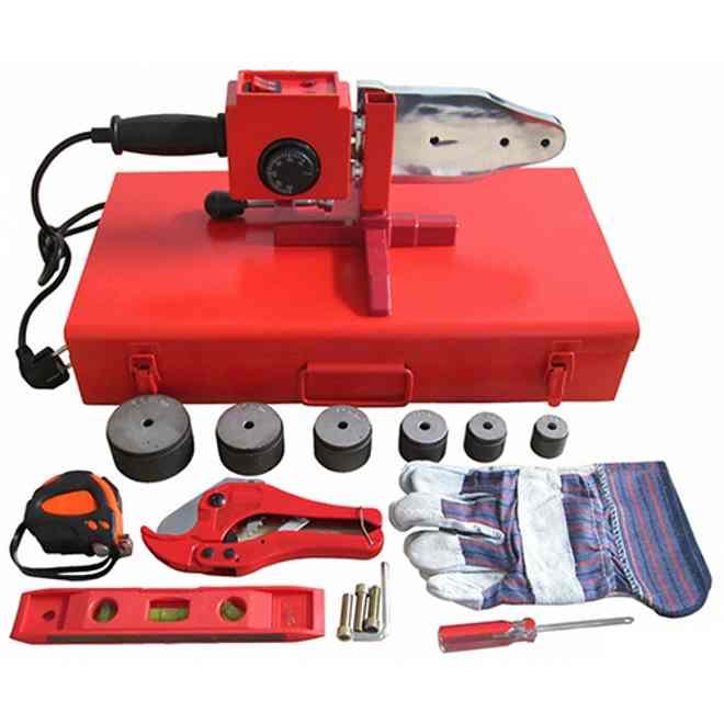 стандартный набор инструментов и оборудования для сварки пп