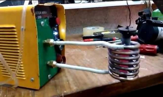 изготовление индукционного нагревателя из инвертора